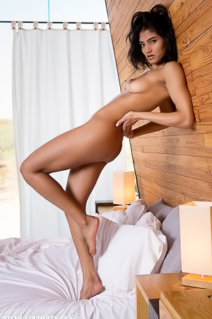 Stunning Angel Constance Teases In The Bedroom