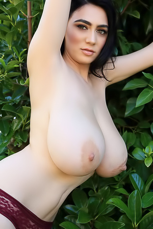 Luna Amor With Truly Awesome Big Natural Boobs